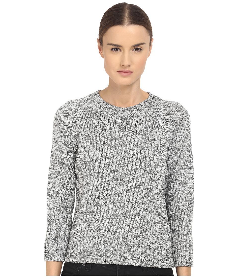 Theory Serino Meridan Sweater Carob Mix Womens Sweater