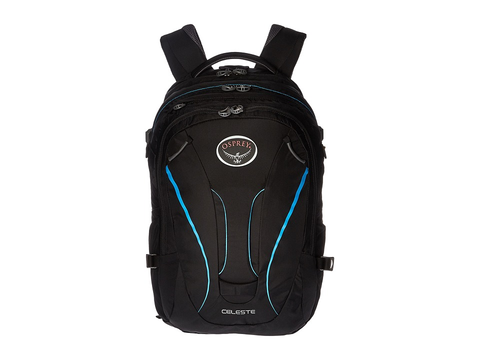 Osprey - Celeste (Black 1) Backpack Bags