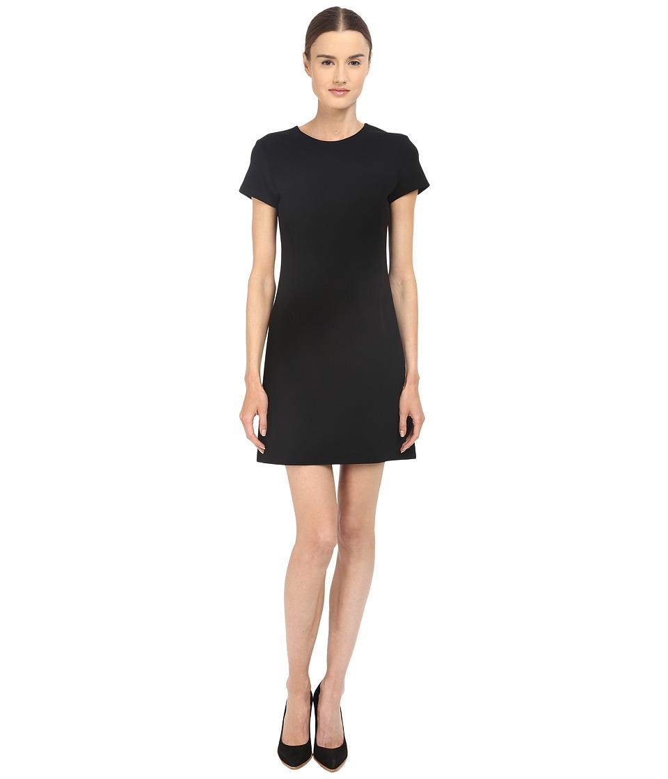 Theory Jatinn Oxford Knit Dress Black Womens Dress