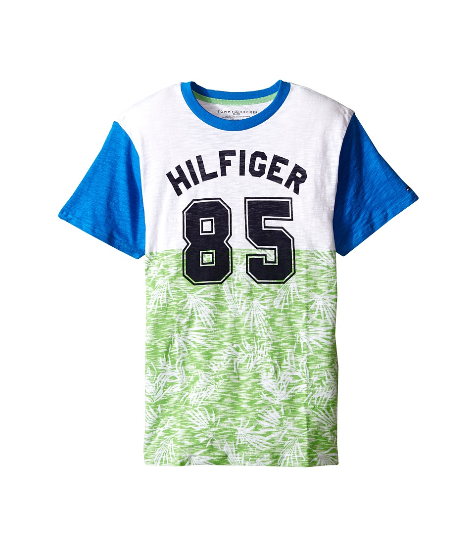 Tommy Hilfiger Kids Palm 85 Tee Big Kids Go Green Boys T Shirt
