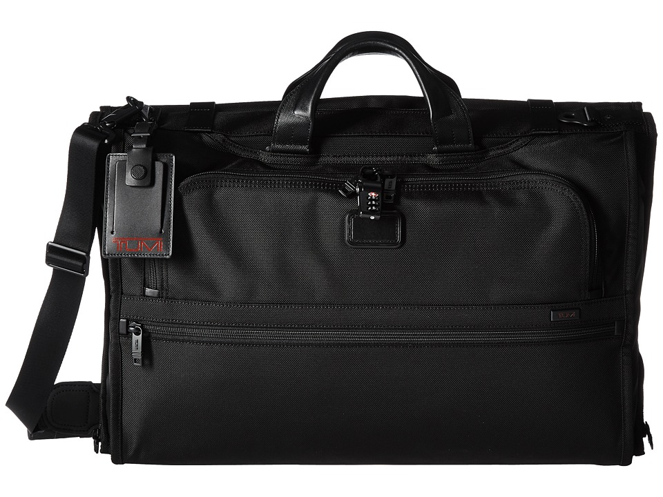 Tumi - Alpha 2 - Tri-Fold Carry-On Garment Bag (Black) Carry on Luggage