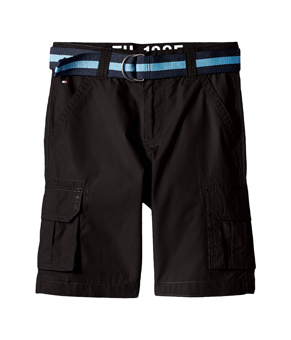Tommy Hilfiger Kids Back Country Cargo Shorts Big Kids Tommy Black Boys Shorts