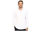 adidas Golf CLIMACOOL UPF Long Sleeve Polo (White)
