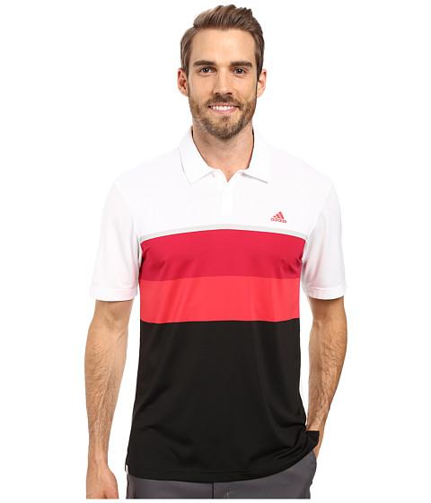 adidas Golf CLIMACOOL® Engineered Stripe Polo