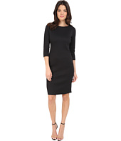 Badgley Mischka - Elbow Sleeve Sheath Day Dress