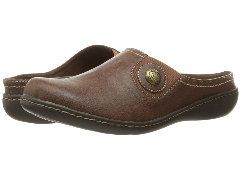 Soft Style Jamila (Mid Brown Leather) Slip-On Shoes