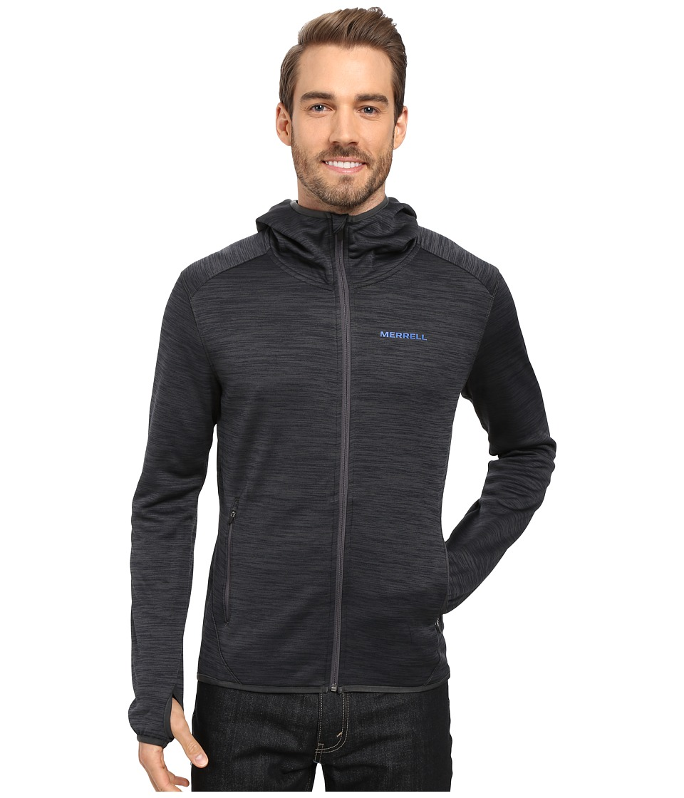 Merrell - Fraxion Hoodie (Asphalt Heather) Men
