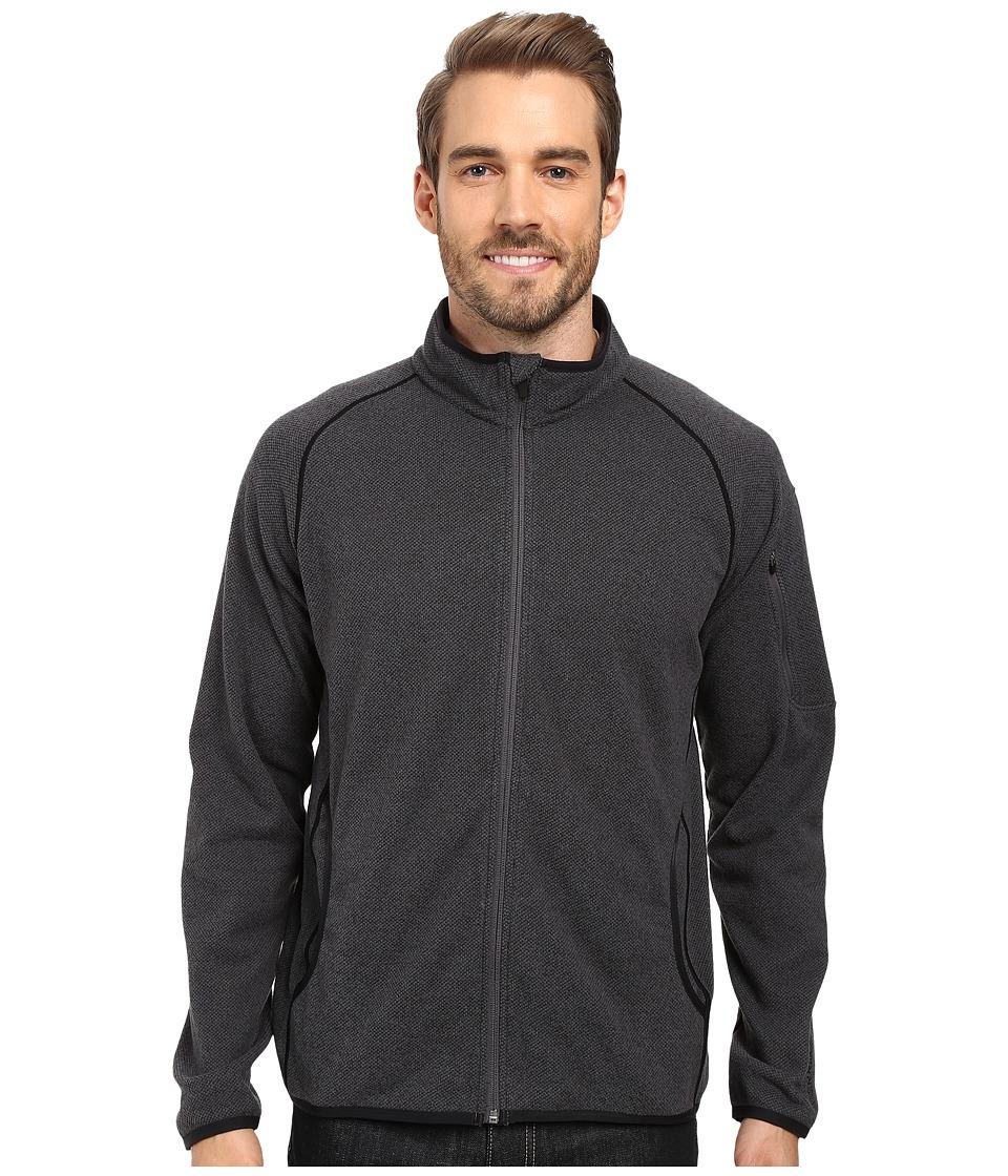 Merrell - Windthrow Full Zip Fleece 2.0 Jacket (Asphalt) Men