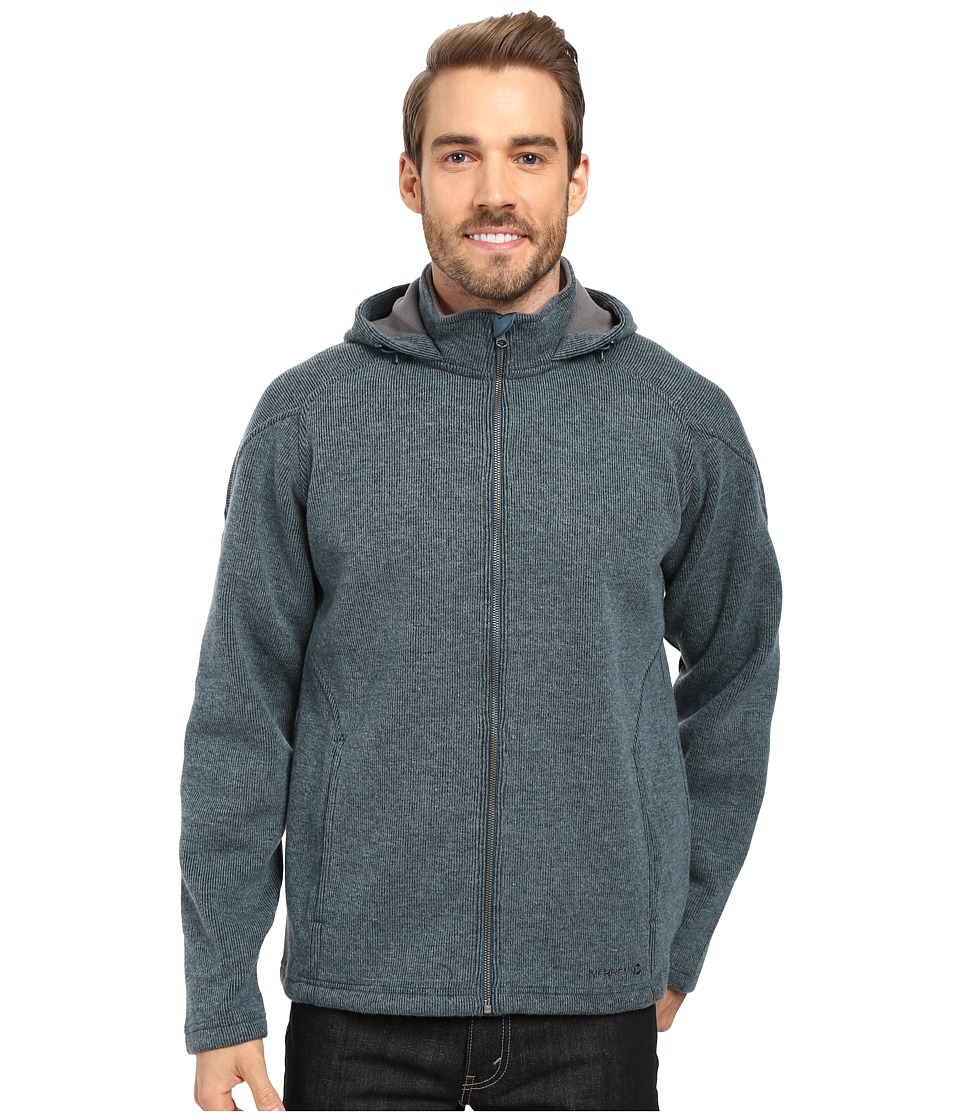 Merrell - Big Sky Hoodie (Blue Spruce Heather) Men