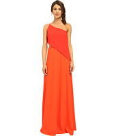JILL JILL STUART - One Shoulder Popover Gown with Side Cutout