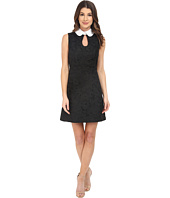 JILL JILL STUART - Sleeveless Collard Front Ke-Hole Short Dress