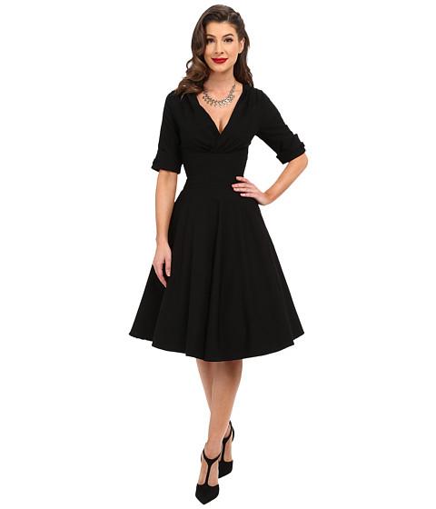 Unique Vintage 3/4 Sleeve Delores Swing Dress - Zappos.com Free ...