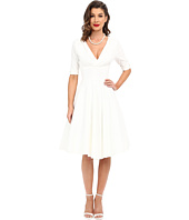 Unique Vintage - 3/4 Sleeve Delores Swing Dress