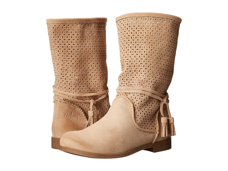 Coolway Nila Beige Womens Boots