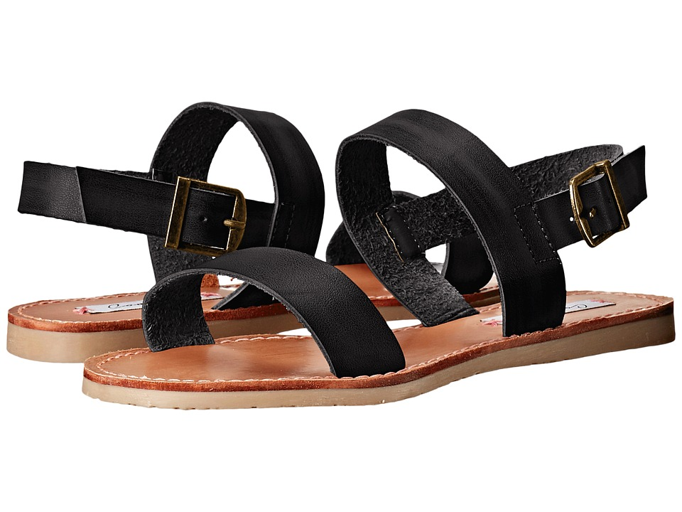 Coolway Monda Black Womens Sandals