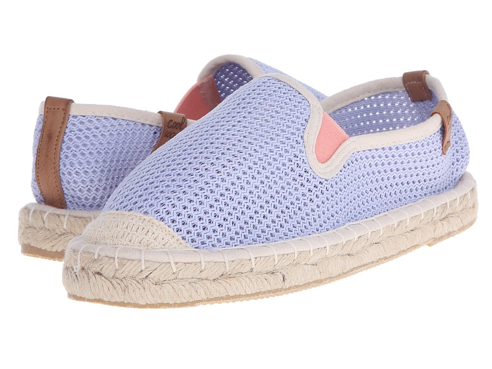 Coolway Jaipur Sky Blue Womens Slip on Shoes