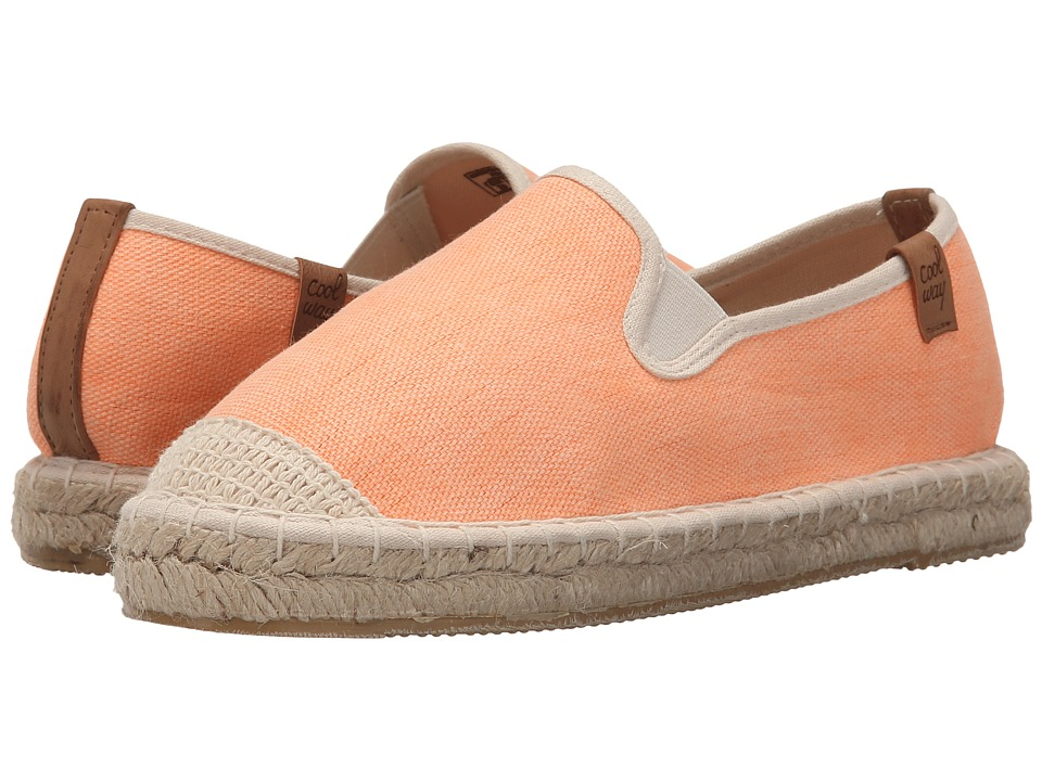 Coolway Jitsu Orange Womens Slip on Shoes