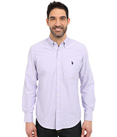 U.S. POLO ASSN. - Long Sleeve Solid Oxford Shirt