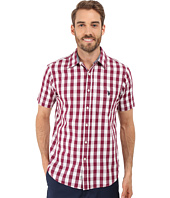 U.S. POLO ASSN. - Poplin w/ Dobby Stitch Plaid Sport Shirt
