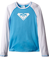 Roxy Kids - Basic Long Sleeve Rashguard (Big Kids)