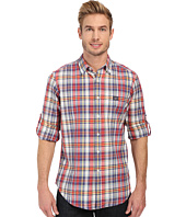 U.S. POLO ASSN. - Long Sleeve Classic Fir Madras Plaid Sport Shirt