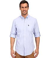 U.S. POLO ASSN. - Long Sleeve Slim Fit Button Down Sport Shirt