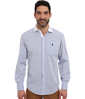 U.S. POLO ASSN. - Long Sleeve Classic Fit Horizontal Stripe Sport Shirt