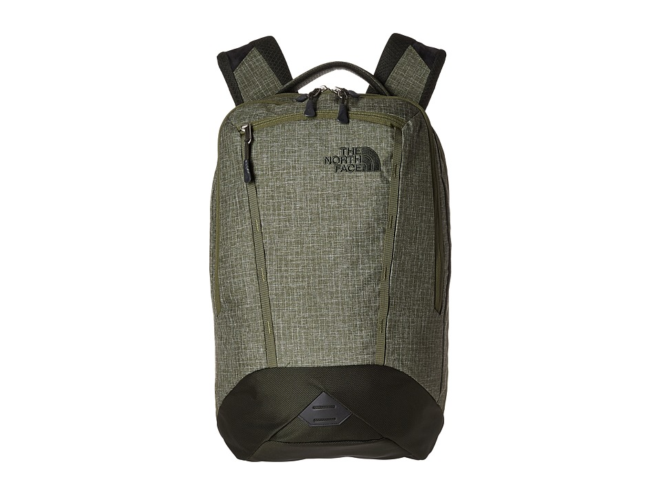 The North Face - Microbyte Backpack (Terrarium Green Heather/Rosin Green) Backpack Bags