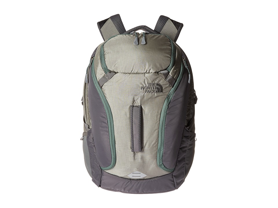 The North Face - Big Shot (Moon Mist Grey/Duck Green) Backpack Bags