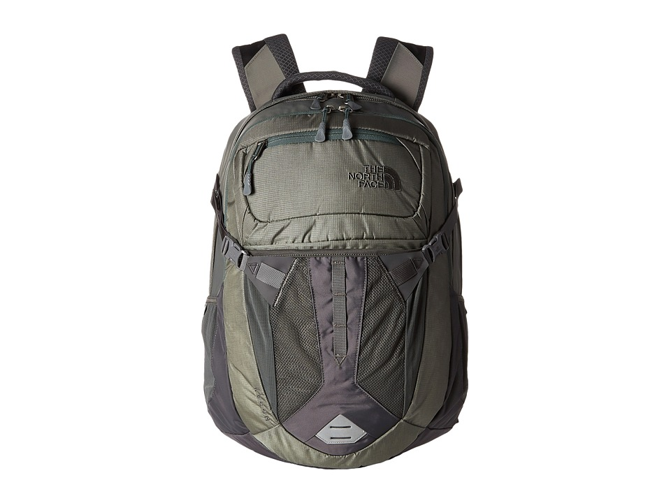 The North Face - Recon (Moon Mist Grey/Duck Green) Backpack Bags