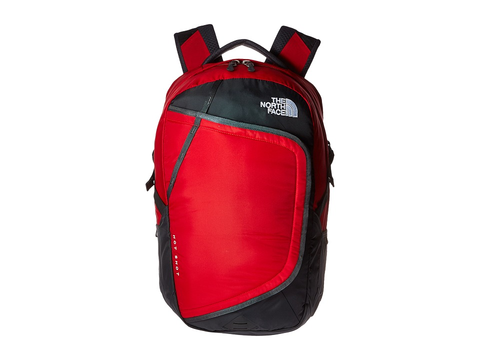 The North Face - Hot Shot Backpack (TNF Red/Asphalt Grey) Backpack Bags