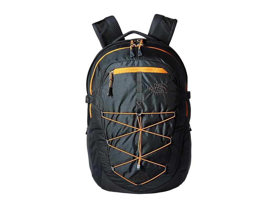 North Face Borealis (Asphalt Grey/Citrine Yellow) Backpac...