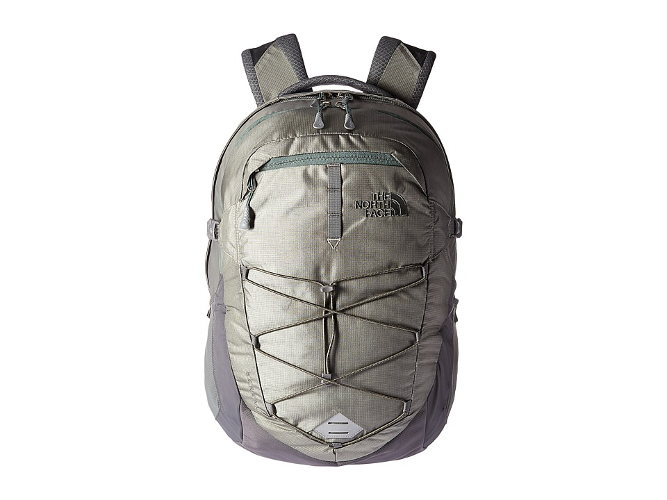 The North Face - Borealis (Moon Mist Grey/Duck Green) Backpack Bags