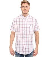 U.S. POLO ASSN. - Button Down Poplin Plaid Sport Shirt