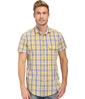 U.S. POLO ASSN. - Short Sleeve Spread Collar Plaid Sport Shirt