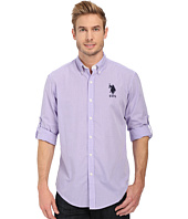 U.S. POLO ASSN. - Long Sleeve Gingham Plaid Sport Shirt