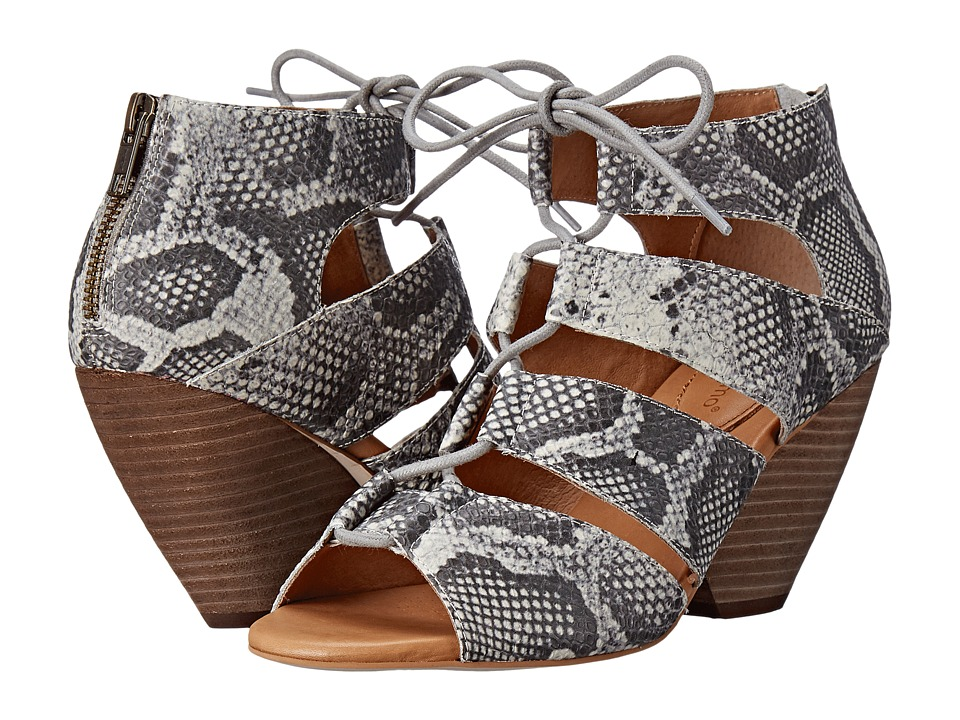 Corso Como Camino Grey Multi Snake High Heels