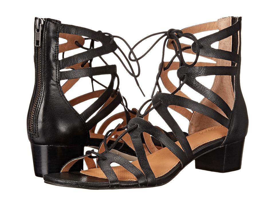 Corso Como Jamaica Black Leather Womens 1 2 inch heel Shoes