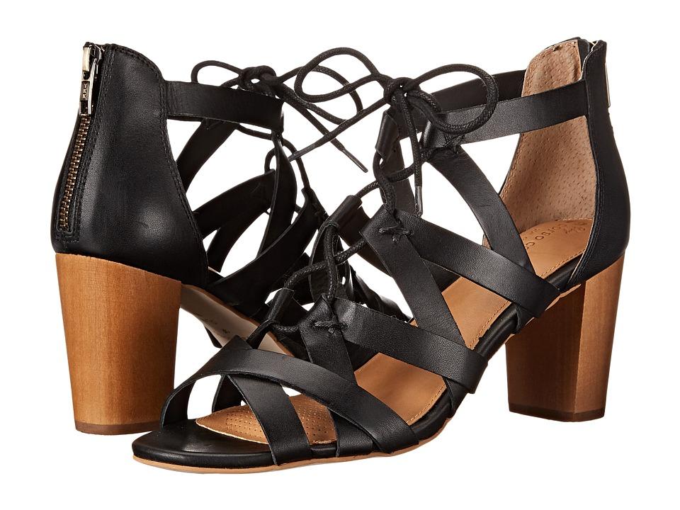 Corso Como Gorgi Black Leather High Heels