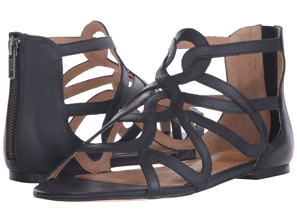Corso Como Surrey Black Leather Womens Sandals