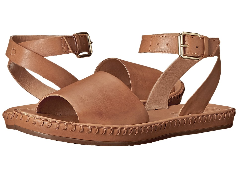 Corso Como Brinkley Tan Leather Womens Sandals