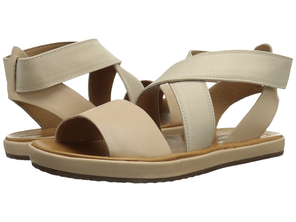 Corso Como Brune Nude Leather Womens Sandals