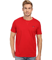 U.S. POLO ASSN. - Solid V-Inset Crew Neck T-Shirt