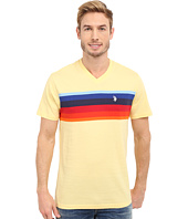 U.S. POLO ASSN. - Chest Stripe V-Neck T-Shirt