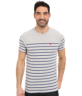 U.S. POLO ASSN. - Solid & Stripe V-Neck T-Shirt
