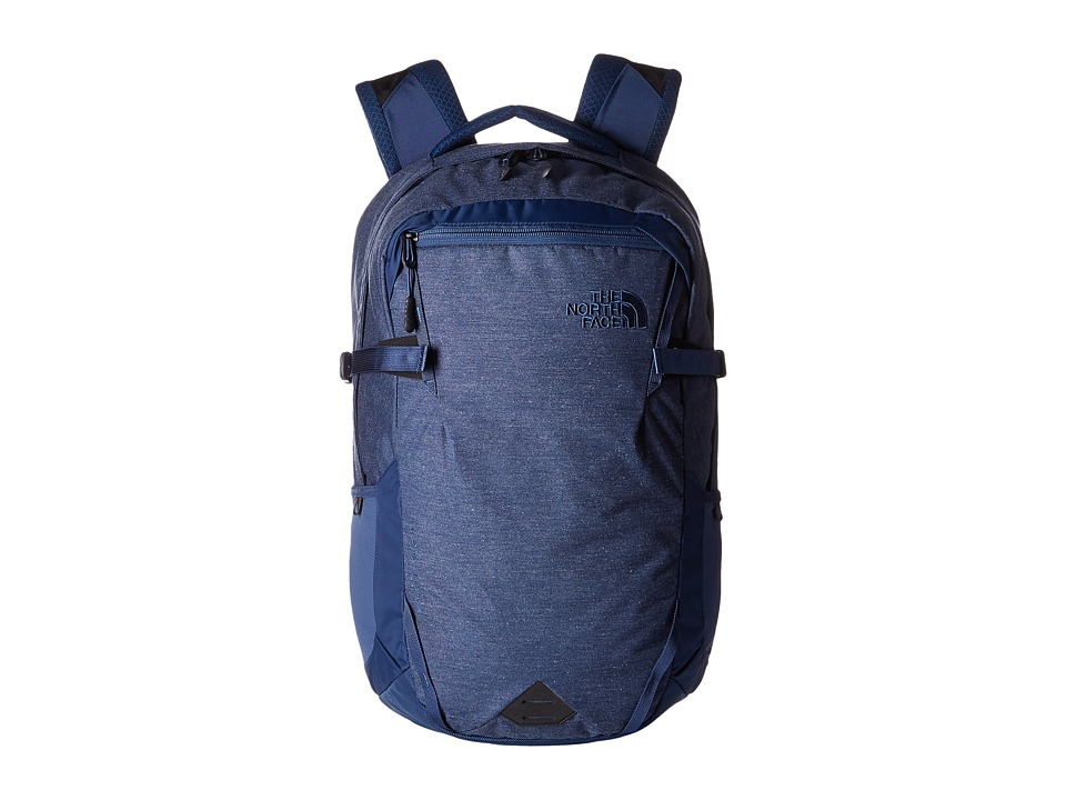 The North Face - Iron Peak Backpack (Shady Blue Heather/Shady Blue) Backpack Bags