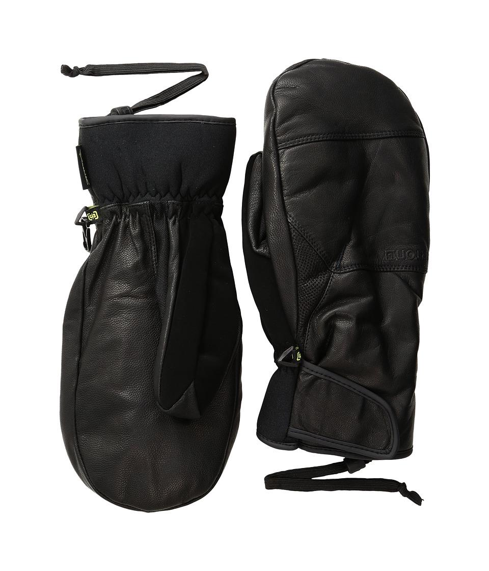Burton Gondy GORE-TEX(r) Leather Mitt (True Black) Gore-Tex Gloves
