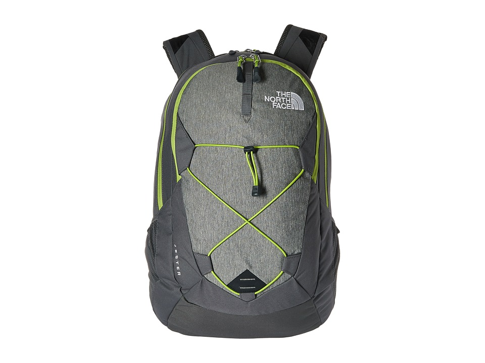 The North Face - Jester (London Fog Heather/Chive Green) Backpack Bags