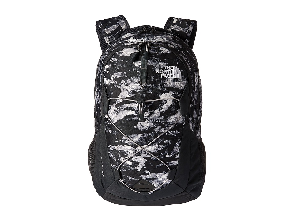 The North Face - Jester (Mountain Camo Print/Metallic Silver) Backpack Bags