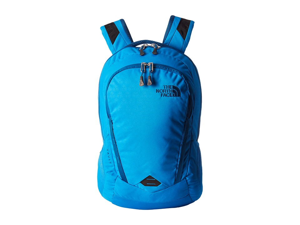 The North Face Vault (Blue Aster Emboss/Banff Blue) Backpack Bags